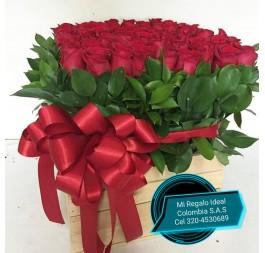 Caja Rosa Roja